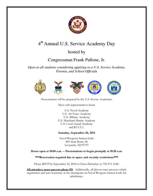 Academy Day Flyer