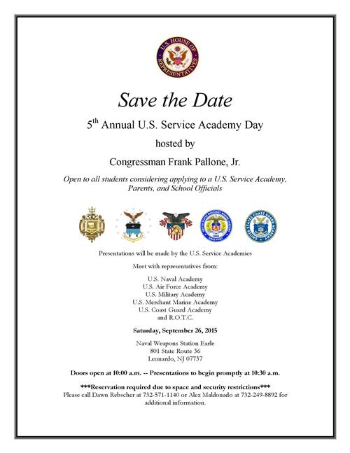 SERVICE ACADEMY DAY